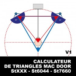 CALCULATEUR Triangles Mac Door
