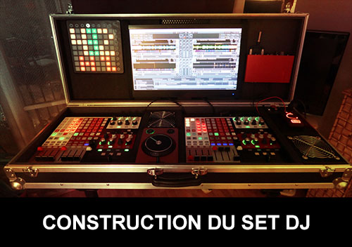 Construction du set dj de Andy Mac Door Akai Apc 40 hack