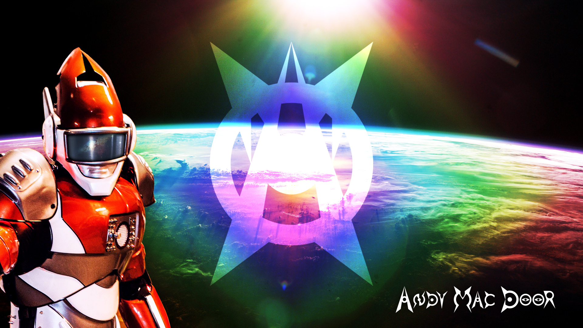 Andy Mac Door - Space wallpaper 03
